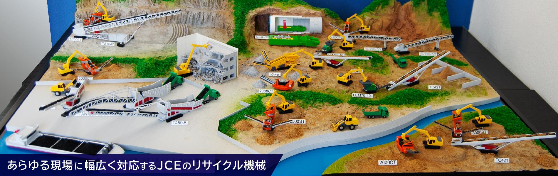JCEのリサイクル機械画像